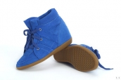 Isabel Marant Shoes Suede Blue
