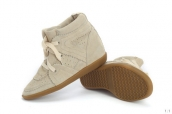 Isabel Marant Shoes Suede Buff