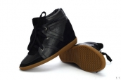 Isabel Marant Shoes Suede Leather Black