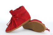 Isabel Marant Shoes Suede Red