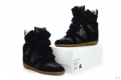 Isabel Marant Shoes Chassic Leather Black
