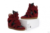 Isabel Marant Shoes Chassic Red Black