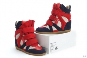 Isabel Marant Shoes Chassic Red Blue White