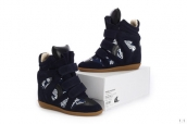 Isabel Marant Shoes Navy Blue