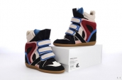 Isabel Marant Shoes 2012 Black Blue Wine Red