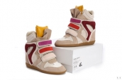 Isabel Marant Shoes 2012 Grey Yellow Wine Red