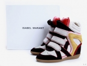 Isabel Marant Shoes 2012 White Black Red Yellow