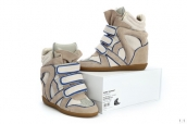 Isabel Marant Shoes 2013 Grey Blue