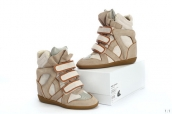 Isabel Marant Shoes 2013 Grey Brown