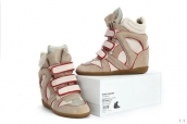Isabel Marant Shoes 2013 Grey Red