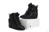 Isabel Marant Shoes Summer Leather Black