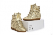 Isabel Marant Shoes Summer Leather Golden