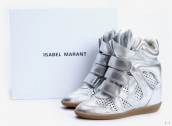 Isabel Marant Shoes Summer Leather Silvery