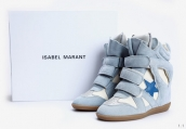 Isabel Marant Shoes Star Light Blue Whtie