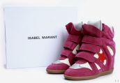 Isabel Marant Shoes Star Purple White Red