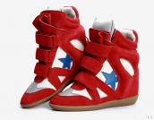 Isabel Marant Shoes Star Red White Blue