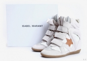 Isabel Marant Shoes Star White Brown