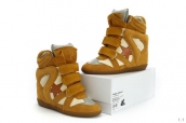 Isabel Marant Shoes Star Yellow Brown