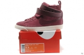AAA Nike Blazer High Women Wine Red