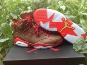 Super Perfect Air Jordan 6 Championship Pack Havana