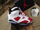 Super Perfect Air Jordan 6 Carminum