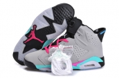 Air Jordan 6 Women Miami Vice