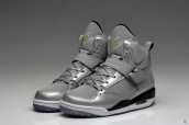Air Jordan Flight 45 Women Silvery Black