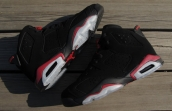 Air Jordan 6 Perfect Retro Women Black Red White