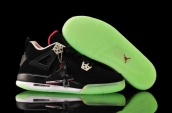 AAA Air Jordan 4 Women Glow In Dark -017