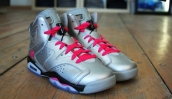 AAA Air Jordan 6 Women Valentines Day