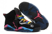 AAA Air Jordan 6 Women Black Colours 160