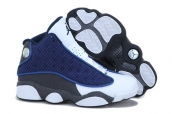 AAA Air Jordan 13 Women Navy Blue White