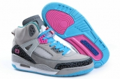 AAA Air Jordan Spizike Women Grey Black Pink Blue