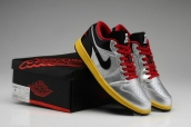 Air Jordan 1 Low Metallic Silver Black Challenge Red Tour Yellow AAA