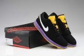 Air Jordan 1 Low Phat Lakers Championship AAA