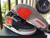Prefect Air Jordan 3 Infrared 23 Black Grey Red
