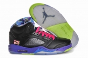 Air Jordan 5 Bel-Air Black Leather AAA