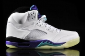 Air Jordan 5 Grape Glow In The Dark AAA