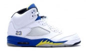 Air Jordan 5 Laney White Varsity Royal AAA