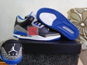 Perfect Air Jordan 3 Retro Sport Blue 170