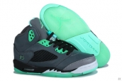 Air Jordan 5 Retro Grey Green Vert AAA