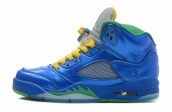 Air Jordan 5 Retro Royal Green Vert AAA
