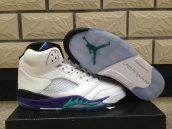 Air Jordan 5 White Grape AAA