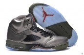 Air Jordan Retro 5 Fear Leather AAA