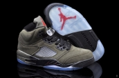 Air Jordan Retro 5 Fear suede AAA