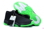 Perfect Air Jordan Future Premium Black Fluorescent Green Glow In Dark