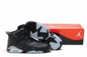 Air Jordan 6 Black Leather AAA