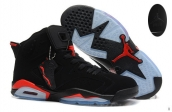 Air Jordan 6 Infrared Black Red Suede AAA