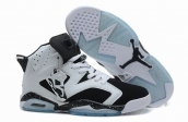 Air Jordan 6 White Black Speckle AAA