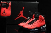 Air Jordan 6 Infrared 23 Red Black discount on line